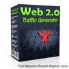 Thumbnail Web 2.0 Traffic Generator With Full Master Resale Rights