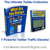 Ultimate Twitter Traffic - With PLR and Master Resale Rights