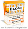 Thumbnail Build Blogs Fast With Full Master Resale Rights