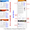 Thumbnail Premade Adsense Integrated Website Templates With Full Master Resell Rights