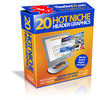 20 Hott Niche Header Graphics Pack With MRR