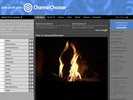 Thumbnail Channel Chooser php Website Script - Website Television