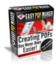 Easy pdf Maker Software With MRR