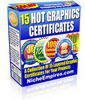 15 Hot Graphics Certificates - PLR
