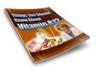 Thumbnail All About Vitamin B12 - PLR