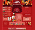 Thumbnail Restaurant - Chinese Food Site Flash Audio Website Template