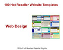 Thumbnail 100 Hot Reseller Website Templates