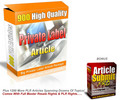 Thumbnail 2100 PLR Articles Plus Article Submission Software