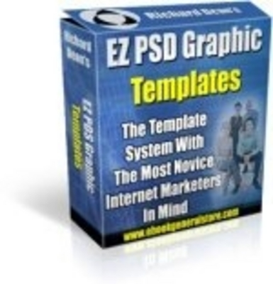 Product picture EZ PSD Graphics Templates Pack