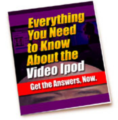Product picture Everything You Need To Know About The Video Ipod PLR