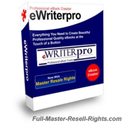 Product picture eWriter Pro - New Version With Full Master Resale Rights