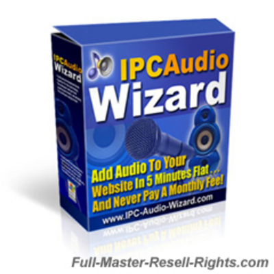 Product picture ICP Audio Wizard - Add Audio To Any Site With Full Master Resale Rights