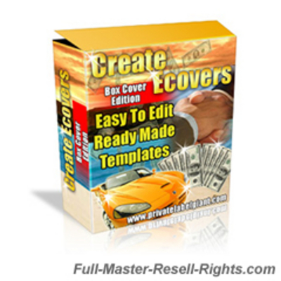 Product picture Ecover & Ebox Creator HOTT Templates Pack With Full Master Resale Rights