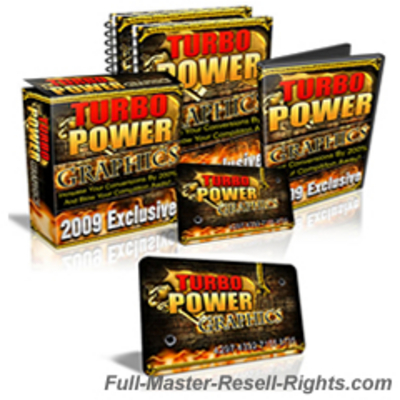 Product picture NEW Turbo Power Graphics Pack With Full Master Resale Rights