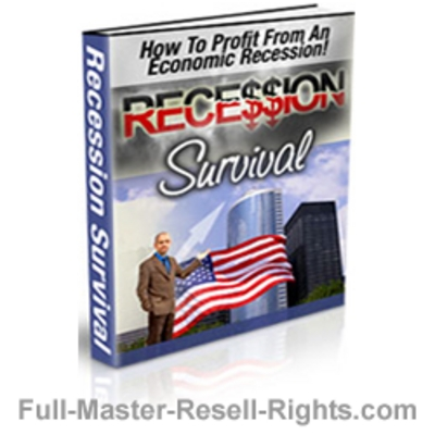 Product picture Survive The Recession With Full Master Resale Rights