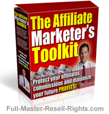 Product picture Affiliate Marketers Toolkit With Full Master Resale Rights