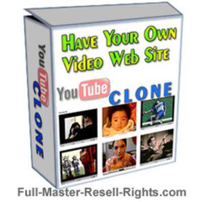 Product picture YouTube Clone Website Script With Full Master Resale Rights.