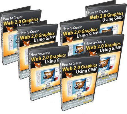 Product picture How To Make Web 2.0 Graphics Using Gimp