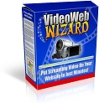 Product picture Video Web Wizard Video Software With MRR