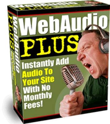 Product picture Web Audio Software - Web Audio Plus With MRR