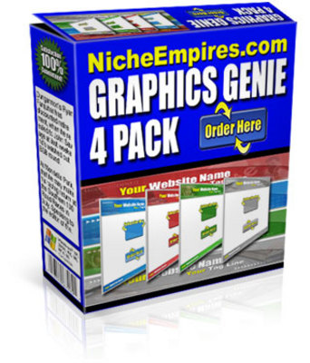 Product picture Graphics Genie 4 Pack Sales Pro Templates