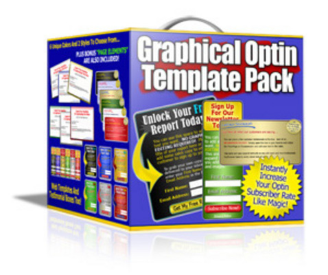 Product picture Optin Templates Package