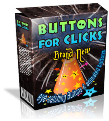 Product picture Buttons For Clicks Button And Sales Graphics