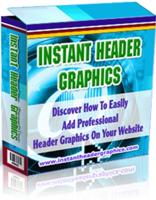 Product picture Instant Header Graphics Pack With MRR