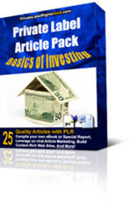 Product picture 25 Basics Of Investing PLR Articles