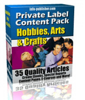 Product picture 35 Hobby And Craft PLR Articles