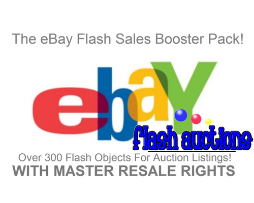 Product picture eBay Auction Flash Sales Booster Package