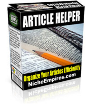 Product picture Article Helper - Article Organizer Software With MRR