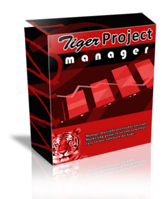 Product picture Tiger Project Manager Software - MRR Rights & Support