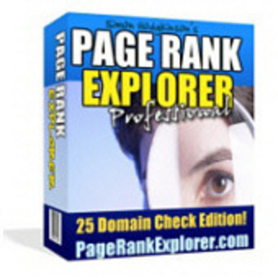 Product picture Page Rank Explorer Software With MRR