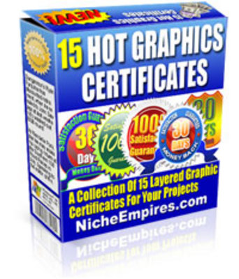 Product picture 15 Hot Graphics Certificates - PLR