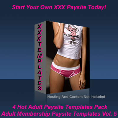 Product picture Adult Membership Paysite Templates Vol. 5