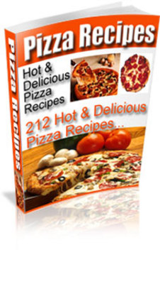 Product picture 212 Hot And Delicious Pizza Recipes - PLR