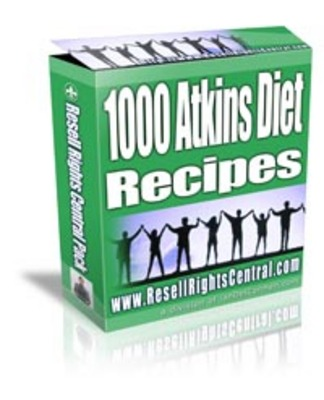 Product picture 1,000 Plus Atkins Diet Recipes