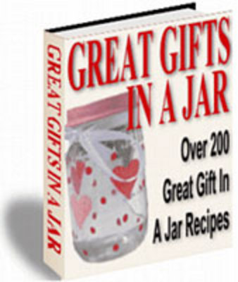 Product picture 200 Great Gifts In A Jar Recipes