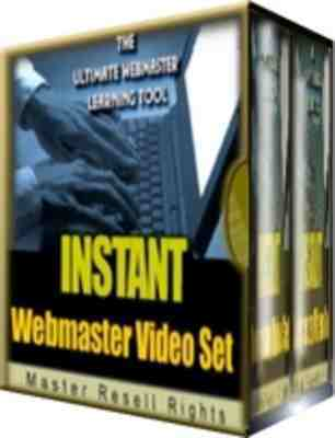 Product picture Instant Webmaster Video Set