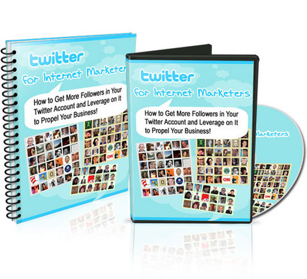 Product picture Twitter For Internet Marketers Video And Audio Tutorials