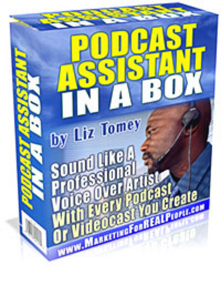 Product picture Podcasting Assistant In A Box