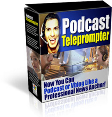 Product picture Podcast Teleprompter Software